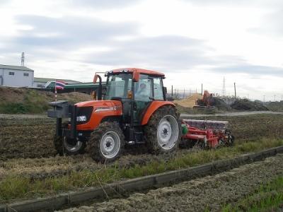 稲刈り終了・・・そして小麦播種へ