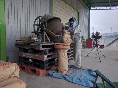 小麦播種準備